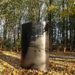 (37) Nina Goerres, Anything goes, gemoffeld staal, 90 x 120 x 200 cm