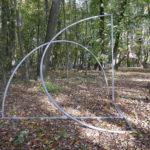 (45) Henk van Bennekum, Dynamiek van de wind, 2018, gecoat staal