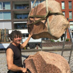 (21) Rob Schreefel, Time, 2010, diverse soorten graniet