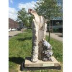 (6) Rita van der Vegt, EOS elftwaalfdertien, 2002, keramiek, 185 x 80 x 80